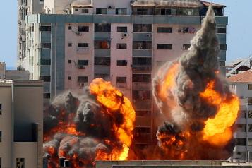 Tour abritant des médias à Gaza L'édifice était «une cible parfaitement légitime», selon Nétanyahou)
