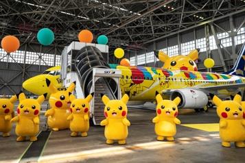 Une compagnie aérienne lance un avion sur le thème de Pokémon)