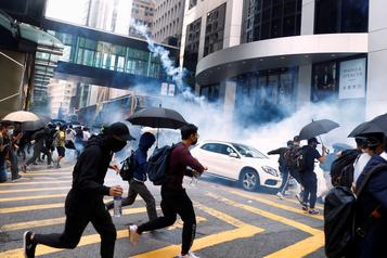 Trump dit avoir sauvé Hong Kong de l'anéantissement