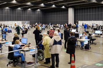Plus du tiers des Montréalais de 80ans ou plus sont vaccinés)