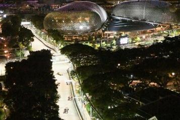 Formule 1 Le Grand Prix de Singapour annulé)