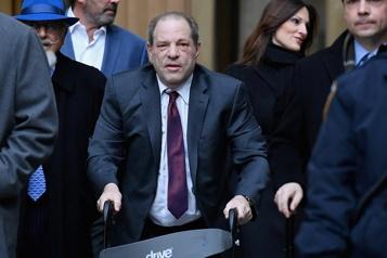 Accusations d'agressions sexuelles et de viols Harvey Weinstein plaide non coupable)
