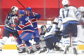 Pointage final Jets 4 – Canadien 3)
