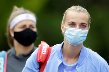 Tennis : un premier tournoi post-confinement à Prague « vraiment bizarre » selon Kvitova)