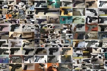 Nouveau record d'armes saisies dans les aéroports américains en 2019