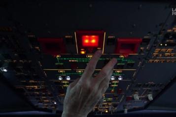 Passionnés d'aviation, ils survolent le monde de chez eux à bord d'un simulateur )