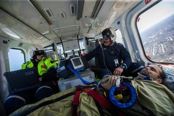 Le projet de transport médical par hélicoptère nedécolle pas
