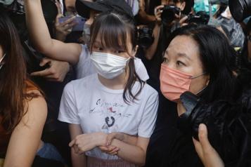 HongKong La militante prodémocratie Agnes Chow est libérée)