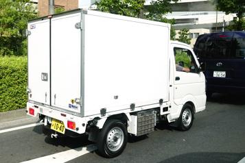 Carte postale à Tokyo Kei le camion )