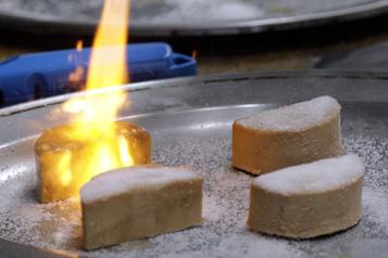 Le foie gras revient au menu en Californie)