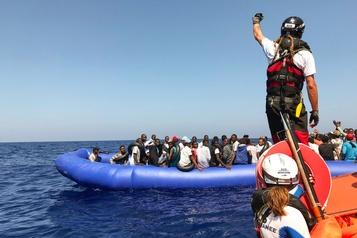 Encore un sauvetage pour l'Ocean Viking, 356 migrants à bord