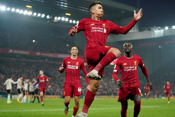 Premier League: un 40e match de suite sans défaite pour Liverpool