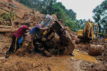 Inde Au moins 25morts dans des inondations et glissements de terrain