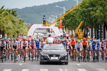 Cyclisme: annulation du Tour de Guangxi, dernière épreuve WorldTour de l'année)