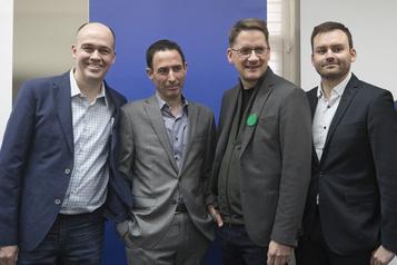 Quatre candidats dans la course à la direction du PQ)