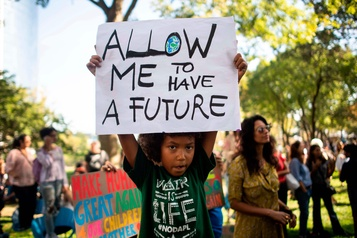 La mobilisation des jeunes sur le climat passe de la rue à l'ONU