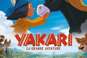 La BD à succès Yakari sur grand écran)