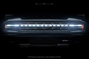 GMC Le GMC Hummer seradévoilé lors delaSérie mondiale)