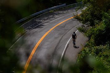 Falaise dangereuse La voie Camillien-Houde fermée pour plusieurs semaines)