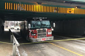 Winnipeg: un homme vole un camion de pompiers