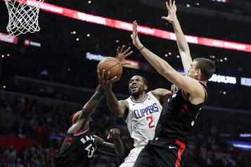 Les Raptors s'inclinent devant Kawhi Leonard et les Clippers