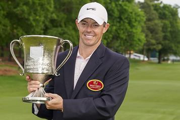 PGA Une première victoire en 18mois pour RoryMcIlroy)