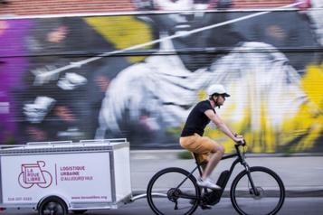 La livraison à vélo à la rescousse des commerçants montréalais