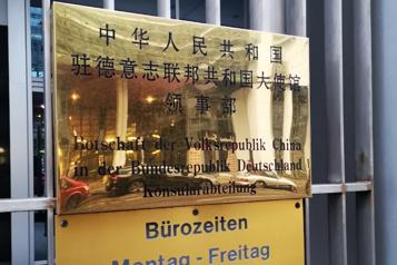 Agent double allemand Une femme accusée d'espionnage pour la Chine, comme son mari)