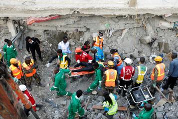 Au moins trois morts dans l'effondrement d'un immeuble à Nairobi