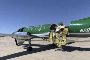 En plein vol Colorado: deux avions entrent en collision sans faire de blessés)