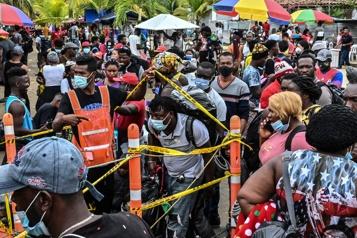 Bloqués à la frontière du Panama Près de 19000migrants en Colombie en transit vers les États-Unis)