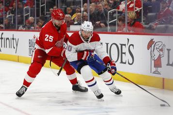 Les Red Wings balaient le Canadien4-3