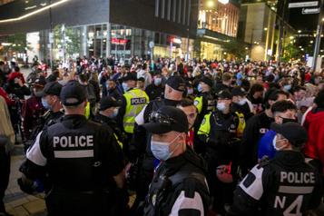 Match Canadien-GoldenKnights La police sera très visible au centre-ville)