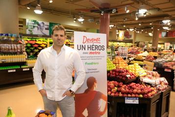 Gaspillage alimentaire: l'application FoodHero fait son entrée chez Metro