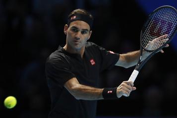 Finales de l'ATP: Roger Federer se remet en selle