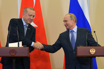 La Russie et la Turquie s'entendent sur une stratégie face aux Kurdes