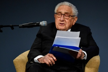 Tensions entre Pékin et Washington L'ex-secrétaire d'état Henry Kissinger tire la sonnette d'alarme)