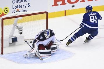 Les Maple Leafs égalisent la série1-1)