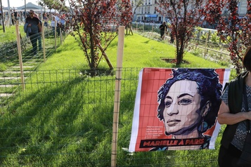 Paris inaugure un «jardin Marielle Franco»