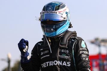 Grand Prix d'Italie Bottas gagne la course sprint, Verstappen partira entête)