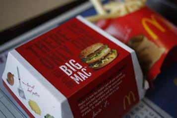 Retour du bœuf canadien chez McDonald's le mois prochain)