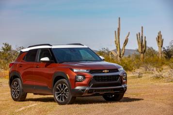 Essai routier Chevrolet Trailblazer : un nouveau (petit) acteur au nom connu )