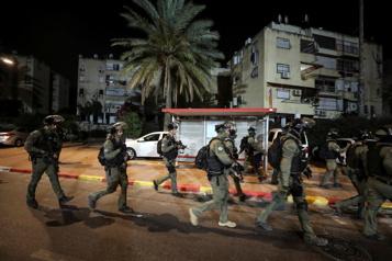 Un air de guerre civile à Lod, ville judéo-arabe d'Israël)