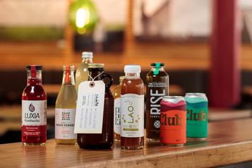 Peu sucré et naturel, le kombucha, boisson en vogue aux États-Unis