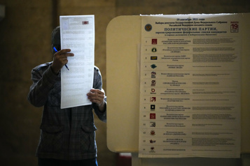 Législatives russes Victoire attendue pour le parti de Poutine)