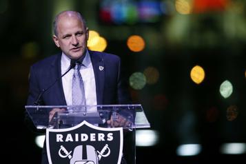 Le président des Raiders de LasVegas, Marc Badain, démissionne)