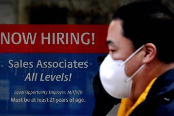 États-Unis Recul plus faible que prévu des inscriptions au chômage)