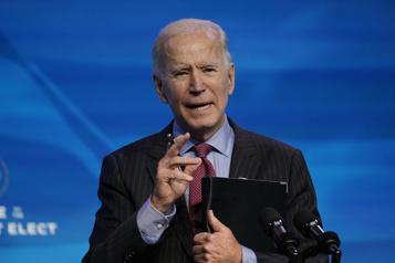 États-Unis Joe Biden dévoile son plan d'aide de 1900milliards de dollars)