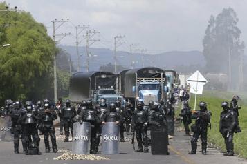 Colombie Le gouvernement dénonce une «campagne de stigmatisation» contre la police)