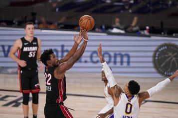 Jimmy Butler explose et le Heat de Miami défait les Lakers)